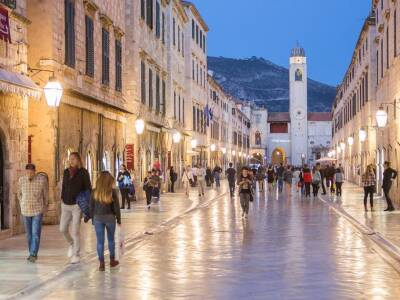 Dubrovnik Stradun Croatia
