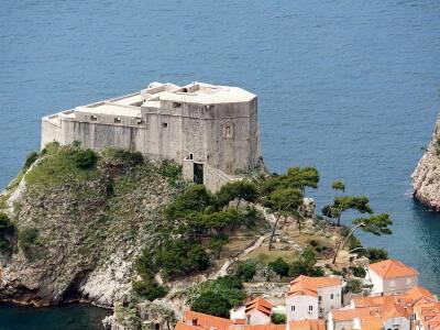 Fort Lovrijenac Dubrovnik Croatia