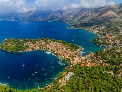 Cavtat Cruise Port Croatia