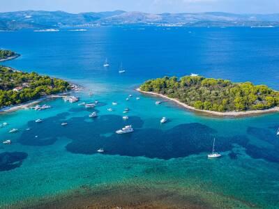 Elaphiti islands cruise port croatia
