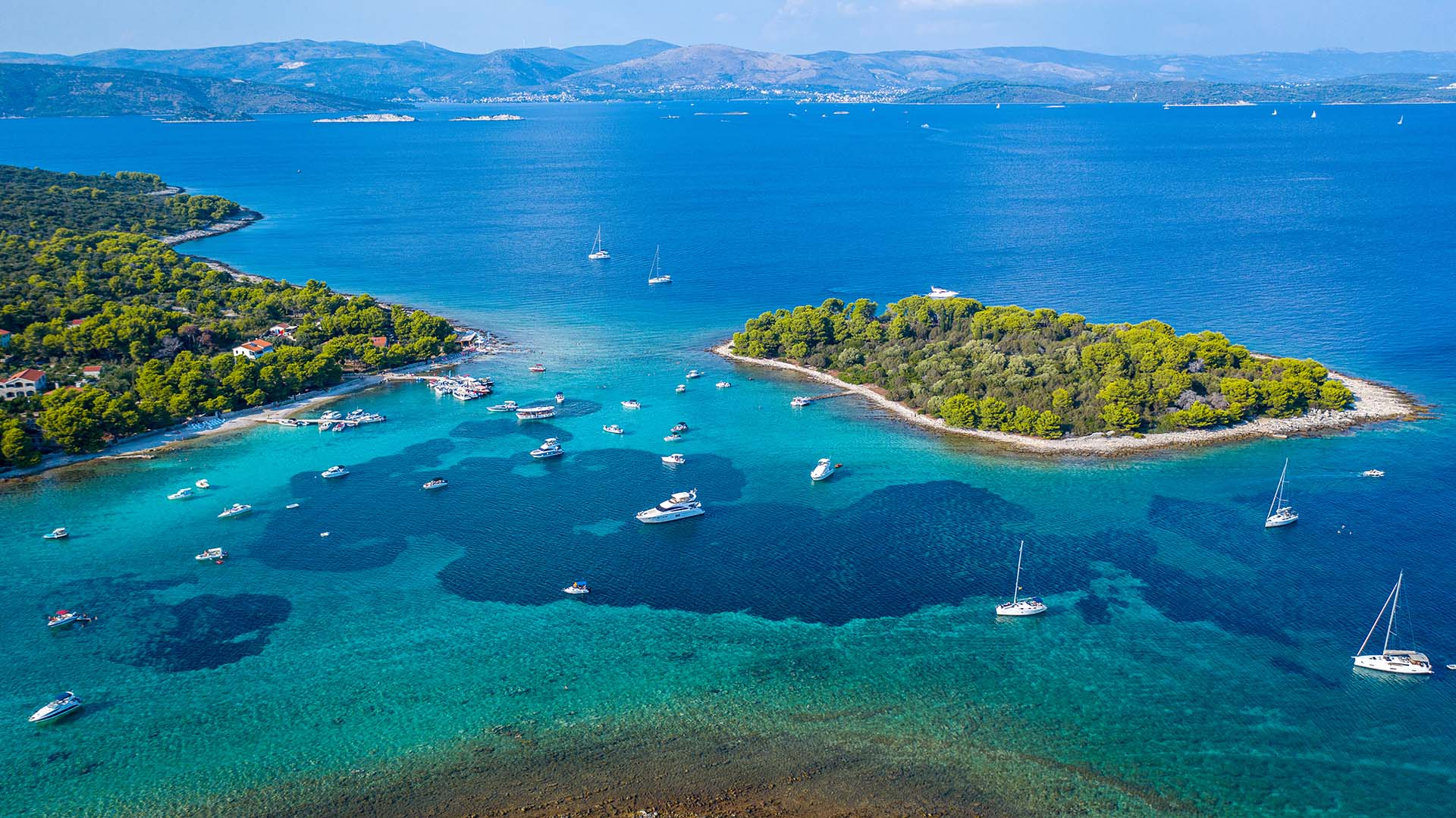 Elaphiti islands cruise port croatia