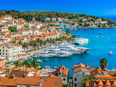 Hvar Cruise port Croatia