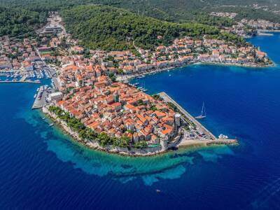 Korcula Island Cruise Port Croatia