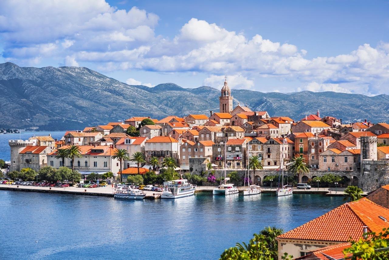 Korcula Island Port Croatia