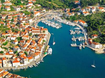 Milna Cruise Port Croatia