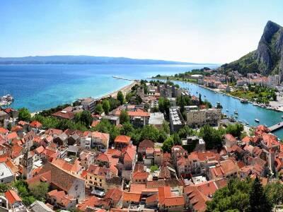 Omiš Cruise Port Croatia