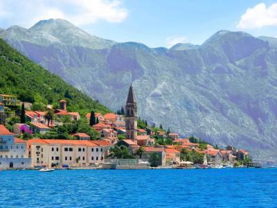 Perast Cruise Port Croatia Montenegro