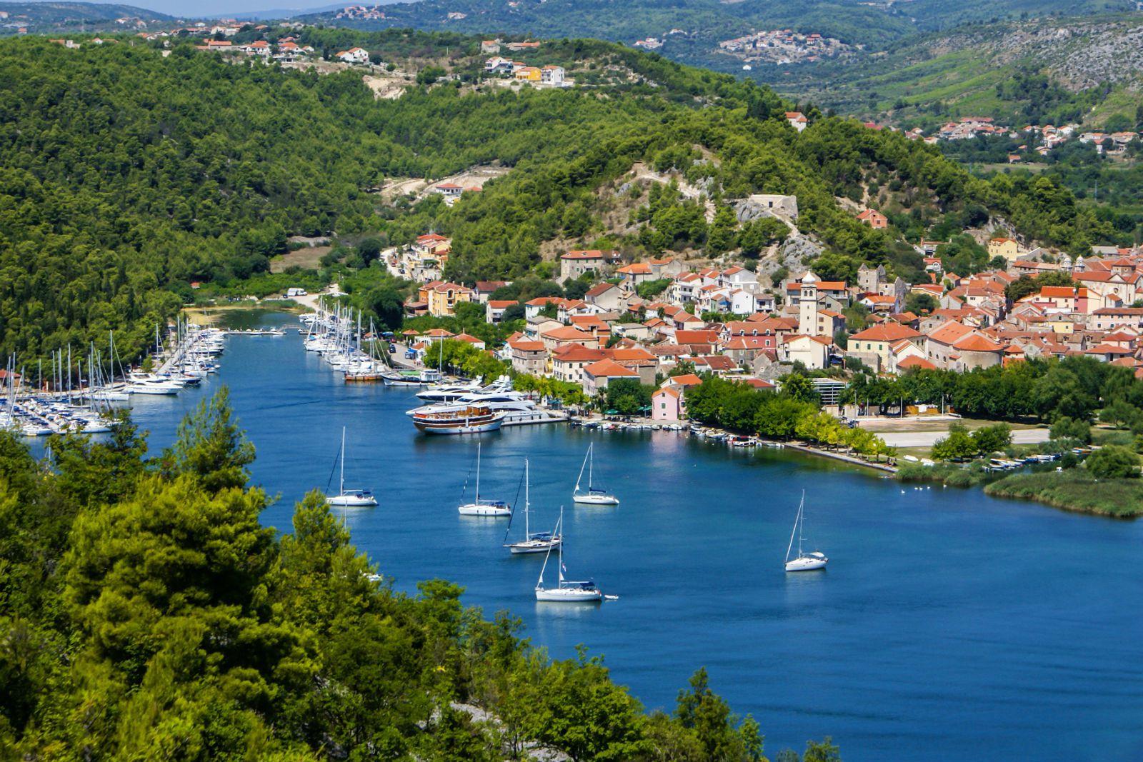 Skradin Cruise Port Croatia