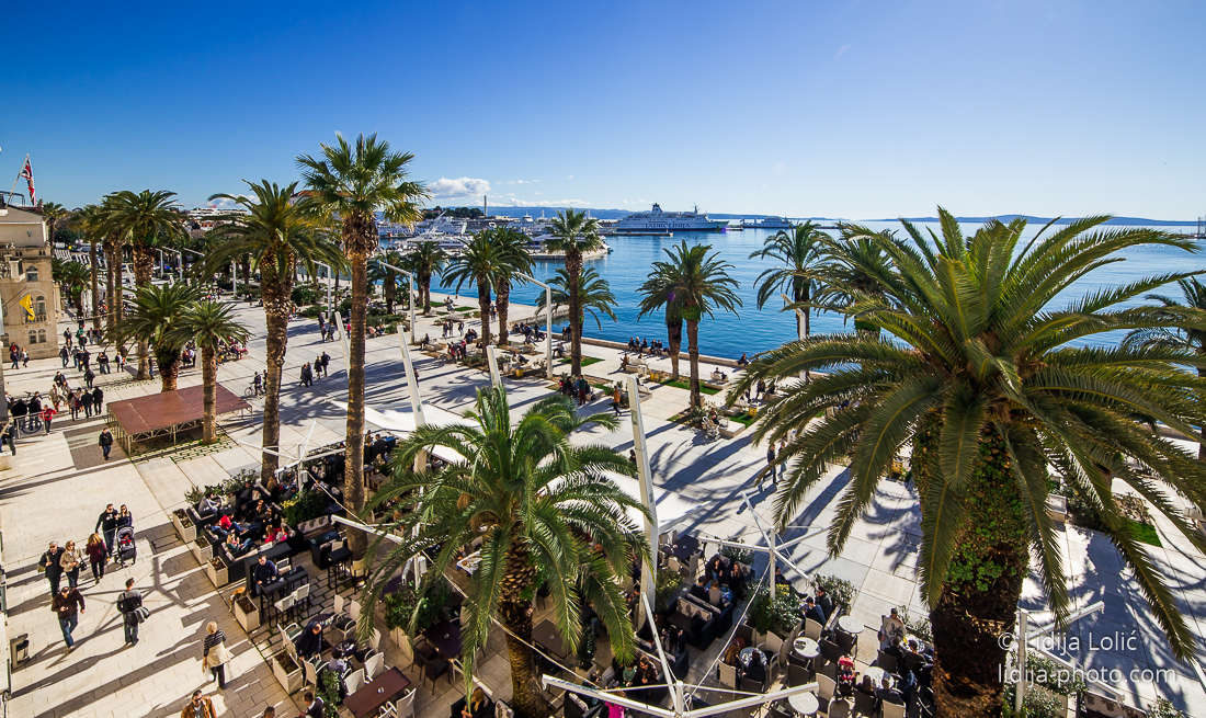 Split Riva Cruise Croatia