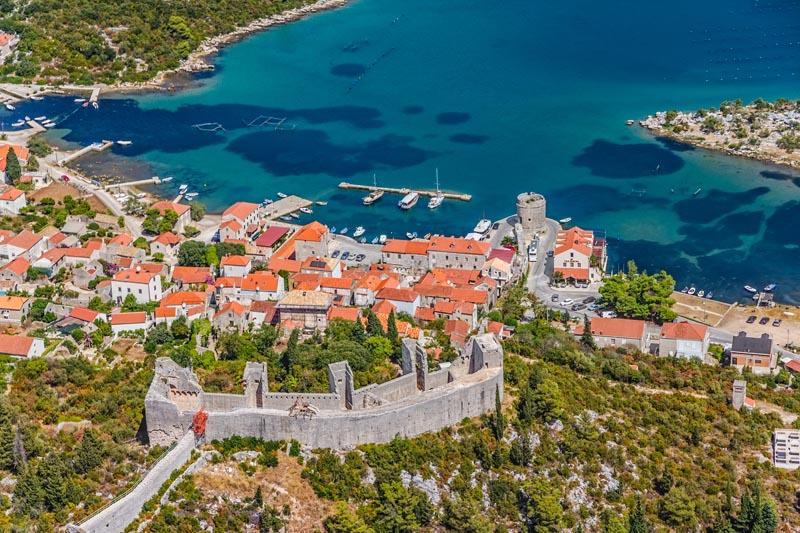 Ston Cruise Port Croatia