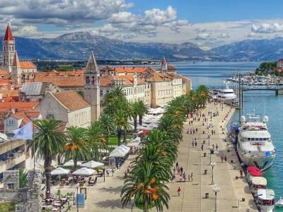 Trogir Cruise Port Croatia