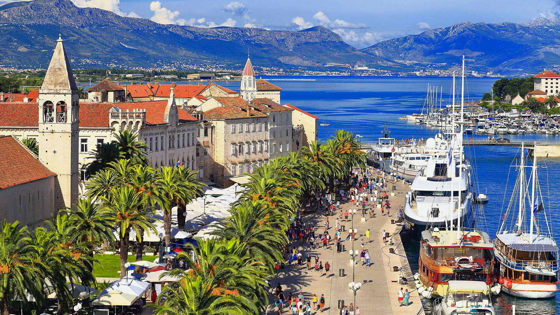 Trogir Cruise Port Croatia