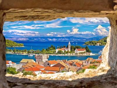 Vis Island Cruise Port Croatia