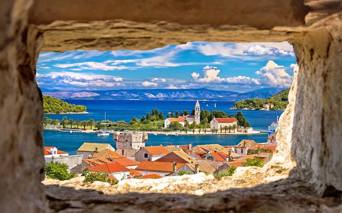 Vis Island Cruise Port Croatia