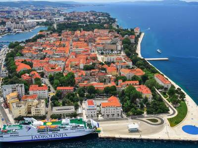 Zadar Cruise Port Croatia