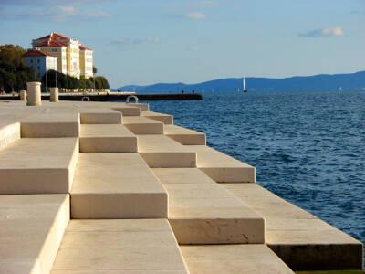 Zadar sea organ cruise croatia