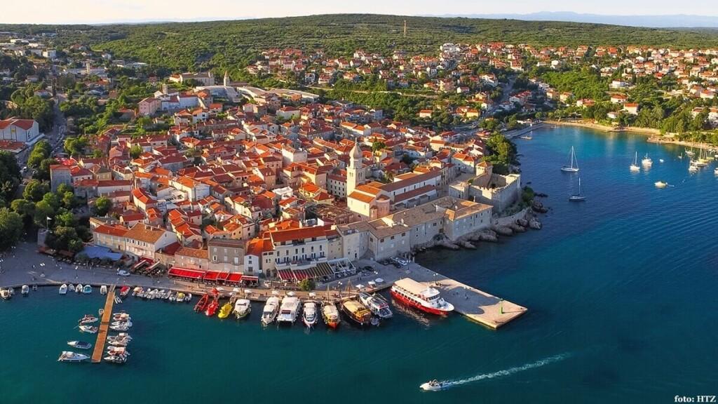 krk island cruise port croatia