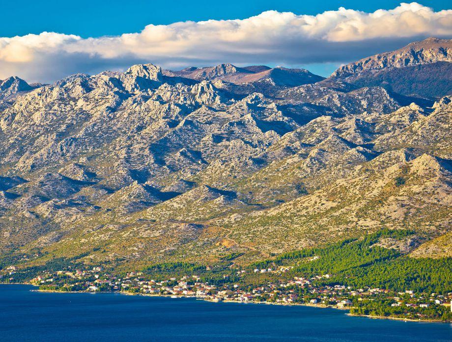 starigrad paklenica cruise port in croatia