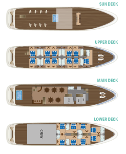 Antaris ship deck plan