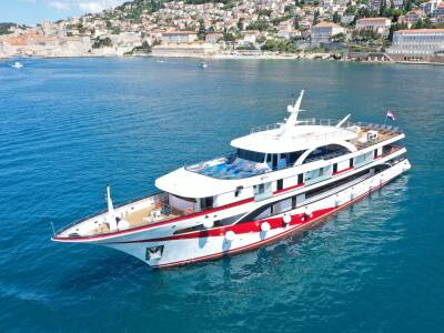 Antaris small croatia cruise ship 1