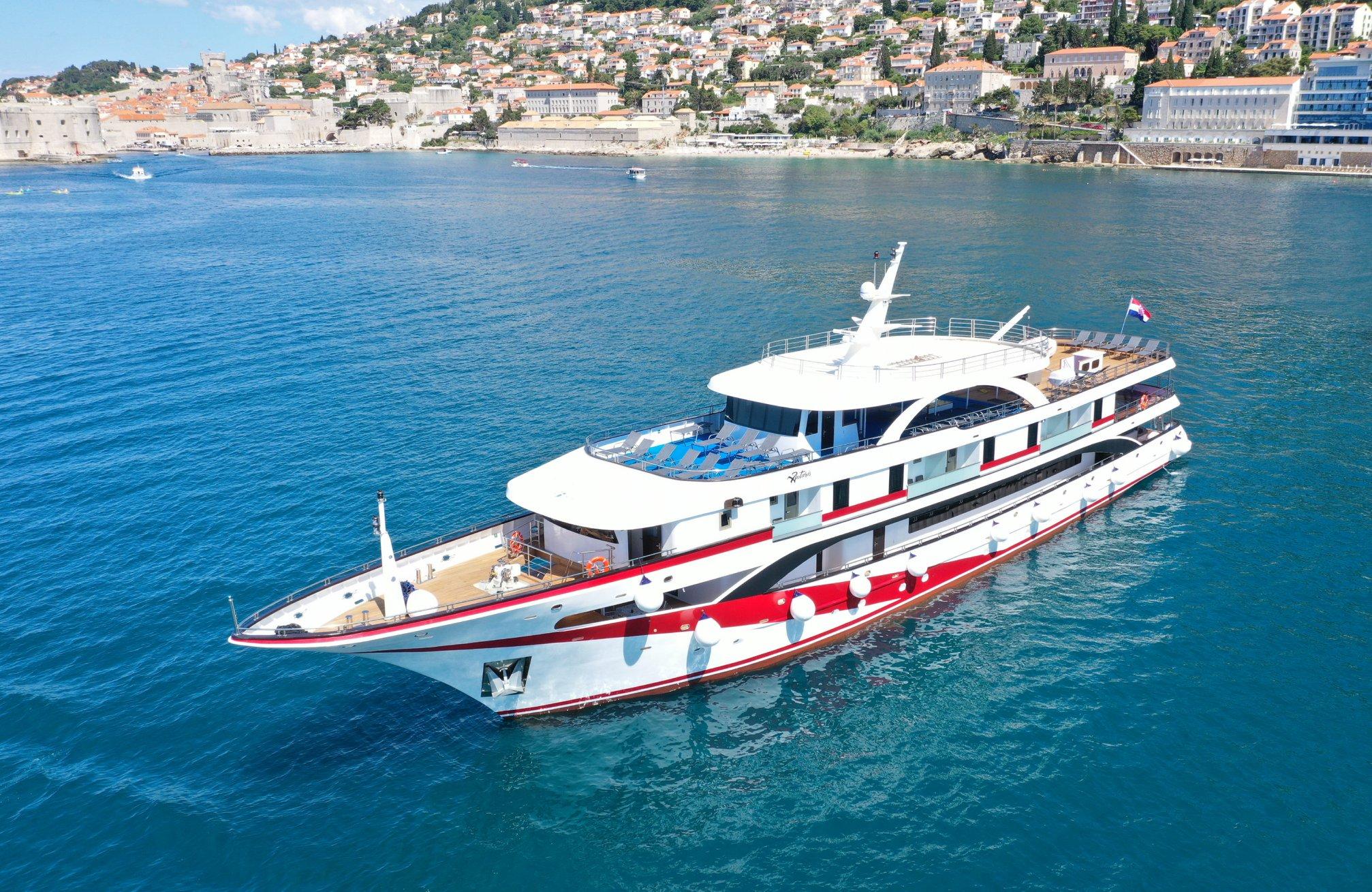 Antaris small croatia cruise ship 1