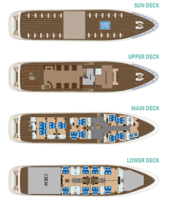Diamond Cruise Ship Deck Plan