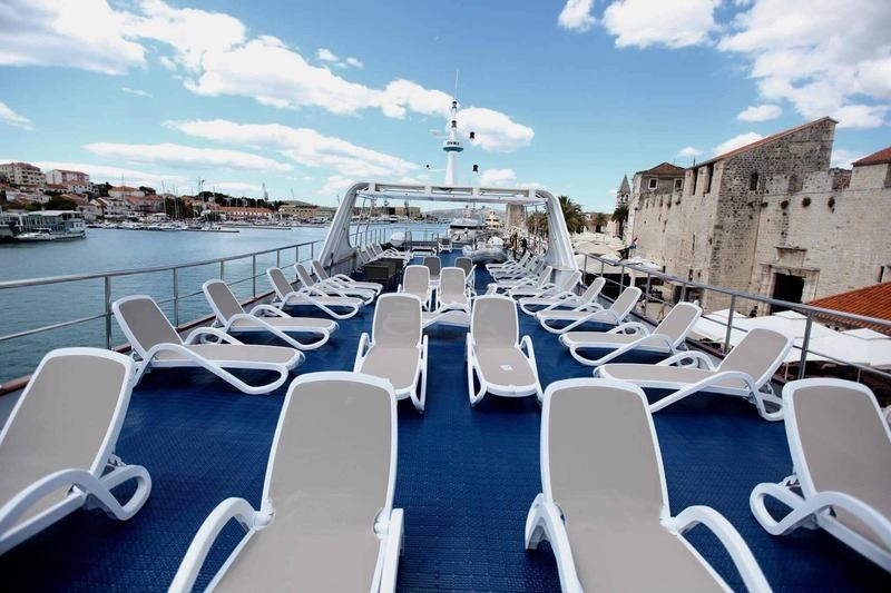 One Way Cruise from Trogir to Dubrovnik on Robin Hood 4