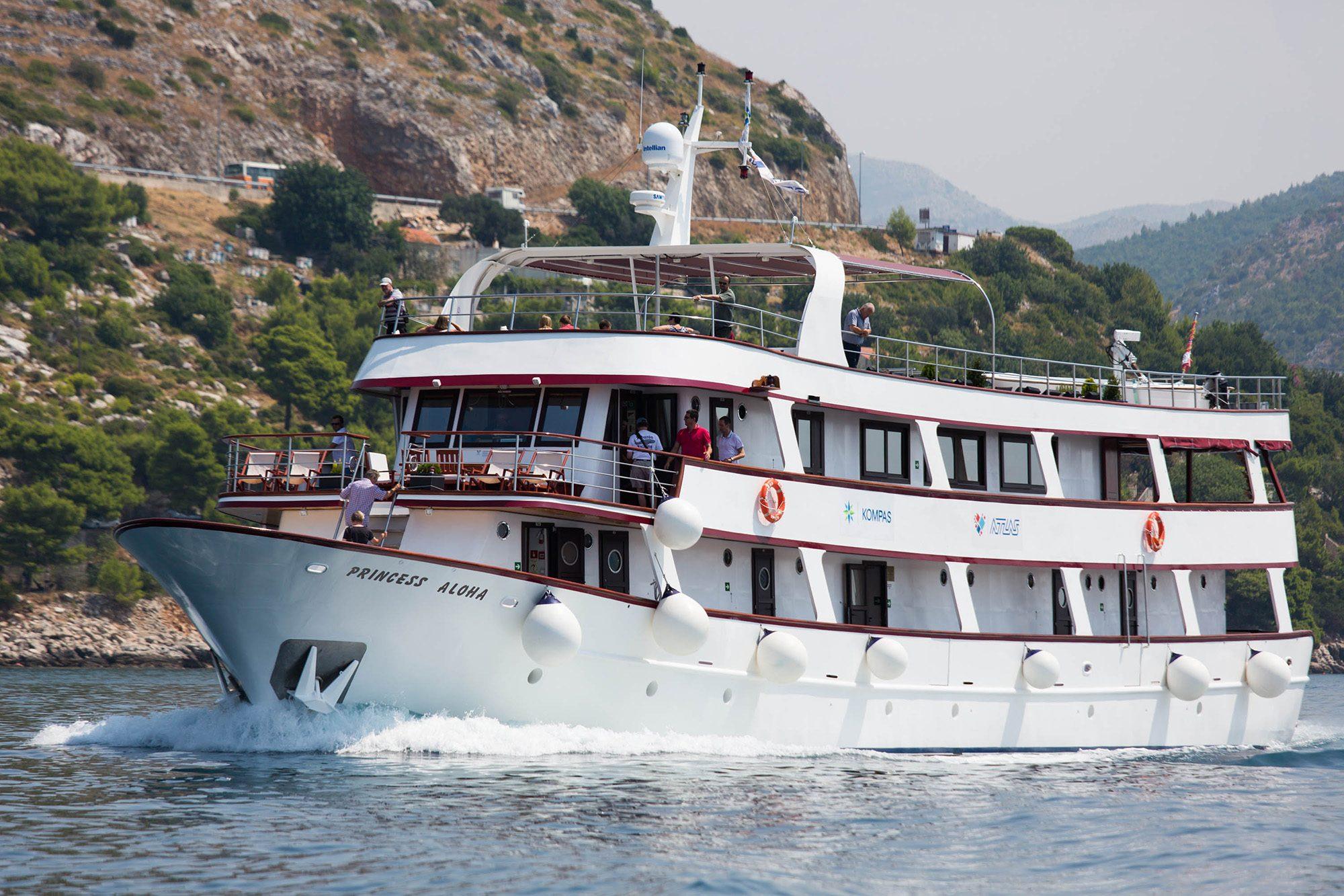 princess aloha cruise ship croatia 0