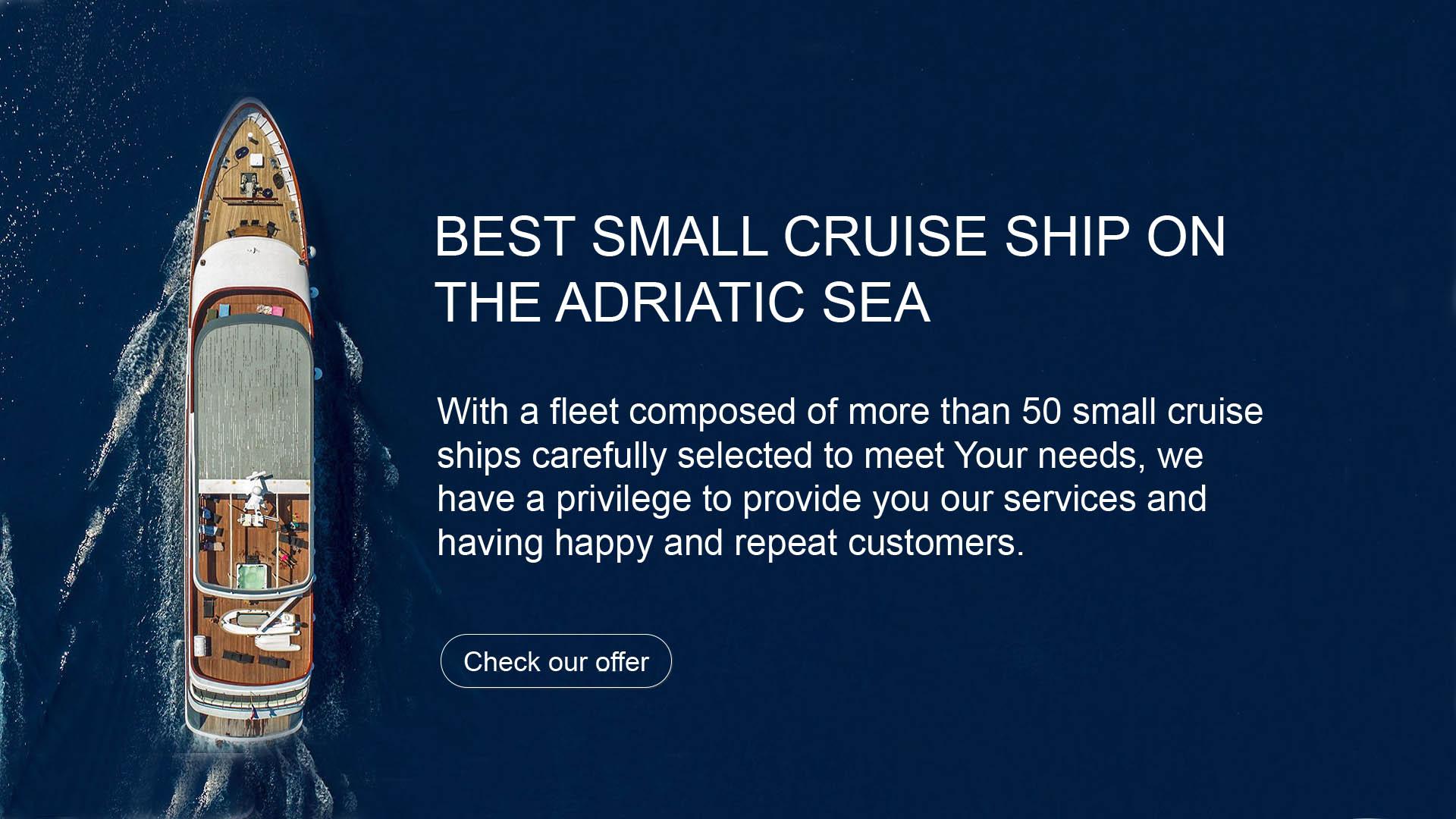 Best small cruise ship croatia