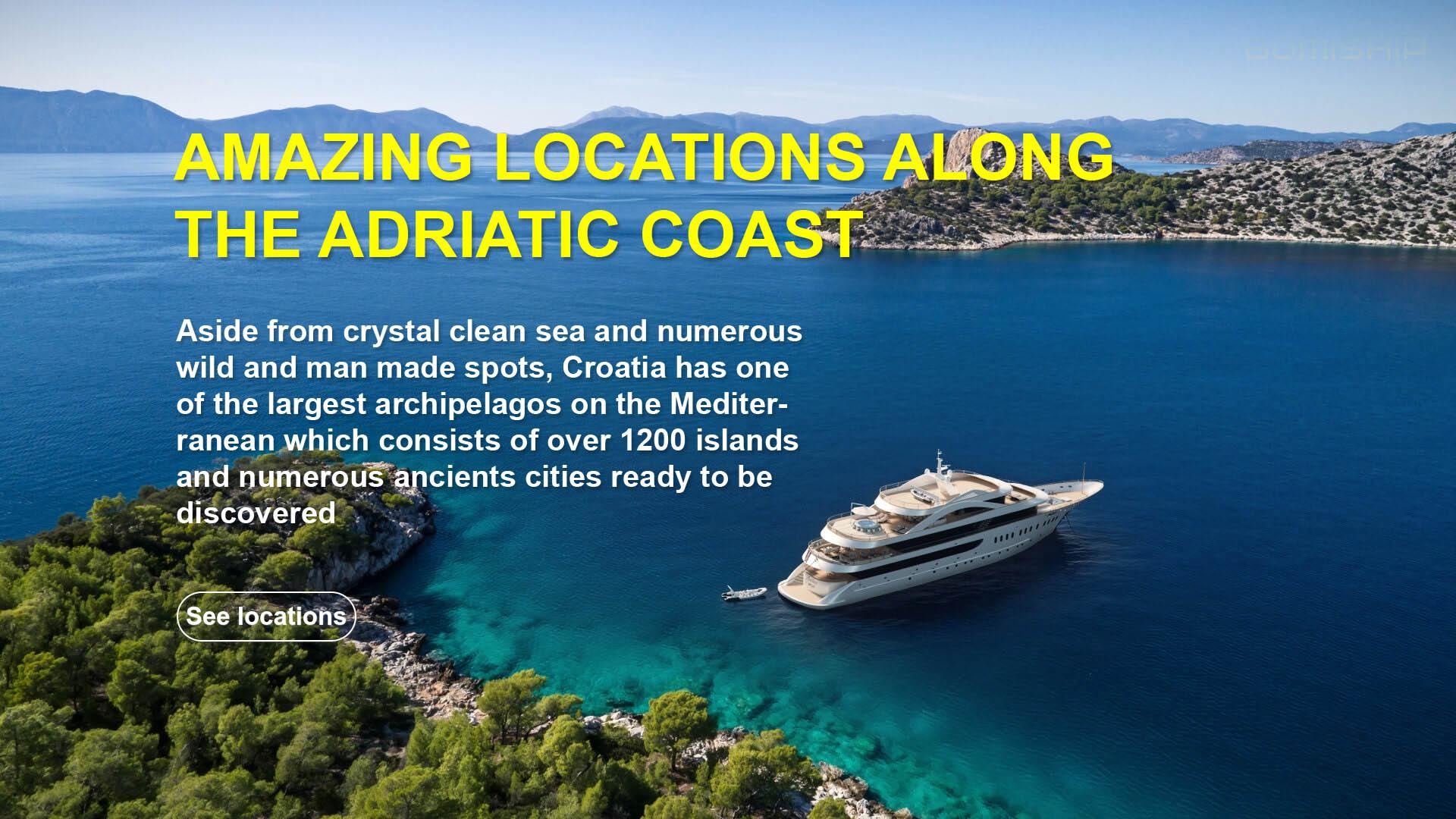 amazing cruise locations croatia