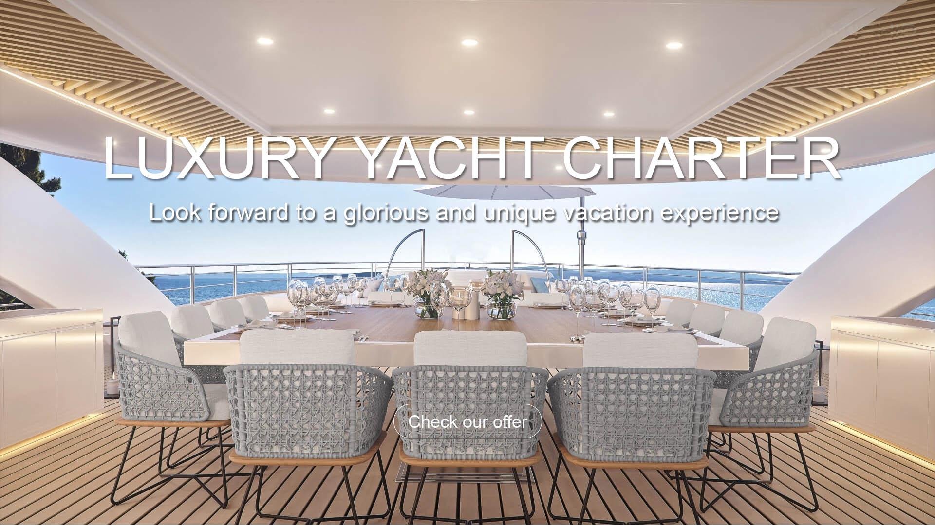 luxury yacht charter croatia